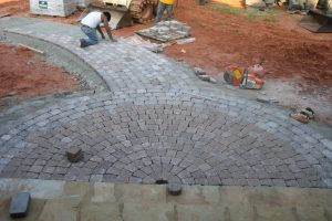 Paver Walks Paths & Drives