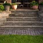 segmental concrete retaining wall installation contractor - McPlants,-317