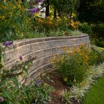 segmental concrete retaining wall installation contractor - McPlants,-324