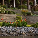 Rock stone retaining walls installation contractor - McPlants,-360