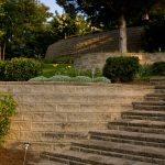 segmental concrete retaining wall installation contractor - McPlants,-373