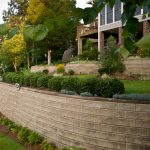 segmental concrete retaining wall installation contractor - McPlants,-411