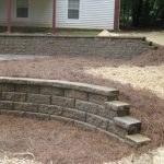 segmental concrete retaining wall installation contractor - McPlants, IMG_0046