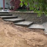 segmental concrete retaining wall installation contractor - McPlants, IMG_0080