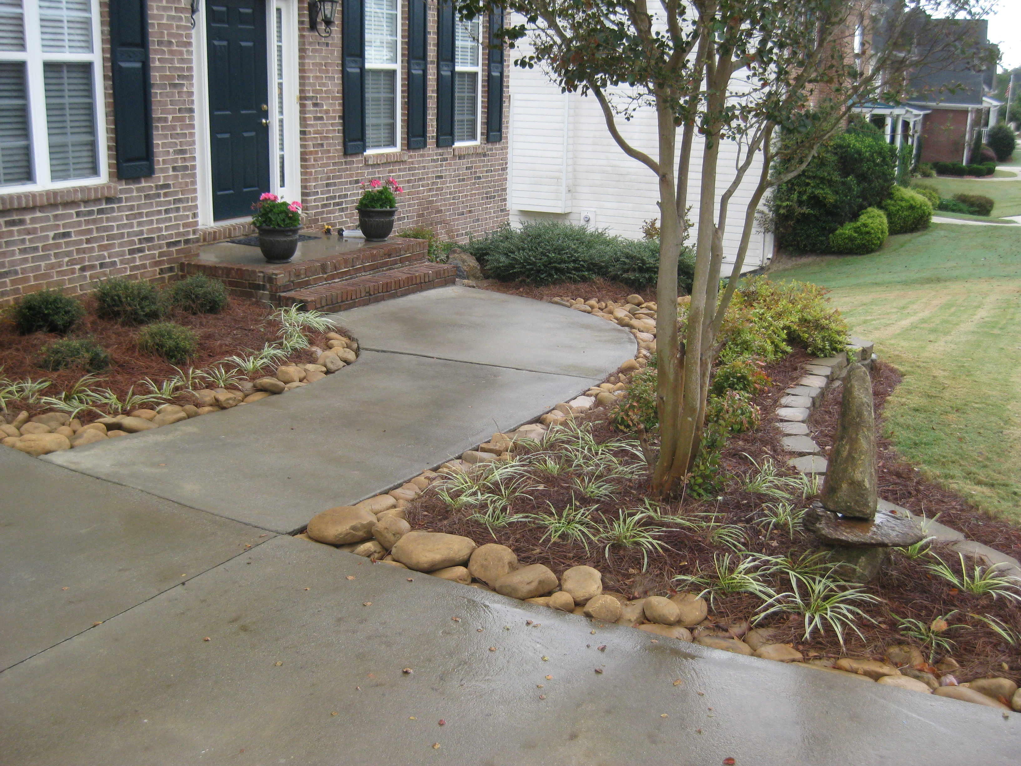 landscaping for water drainage drainage pond water drainage solutions landscaping mcplants mcplants