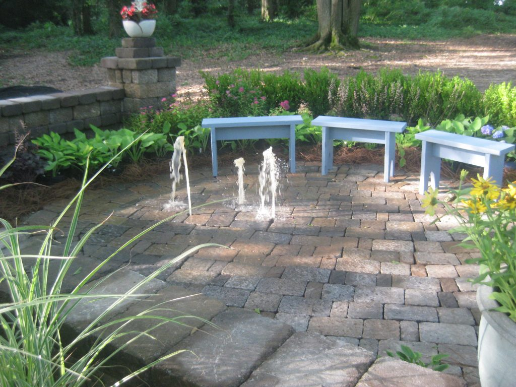 landscape water drainage solutions
