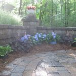 segmental concrete retaining wall installation contractor - McPlants, IMG_2124