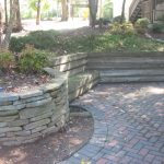 Rock stone retaining walls installation contractor - McPlants, IMG_8151