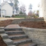 segmental concrete retaining wall installation contractor - McPlants, IMG_8410