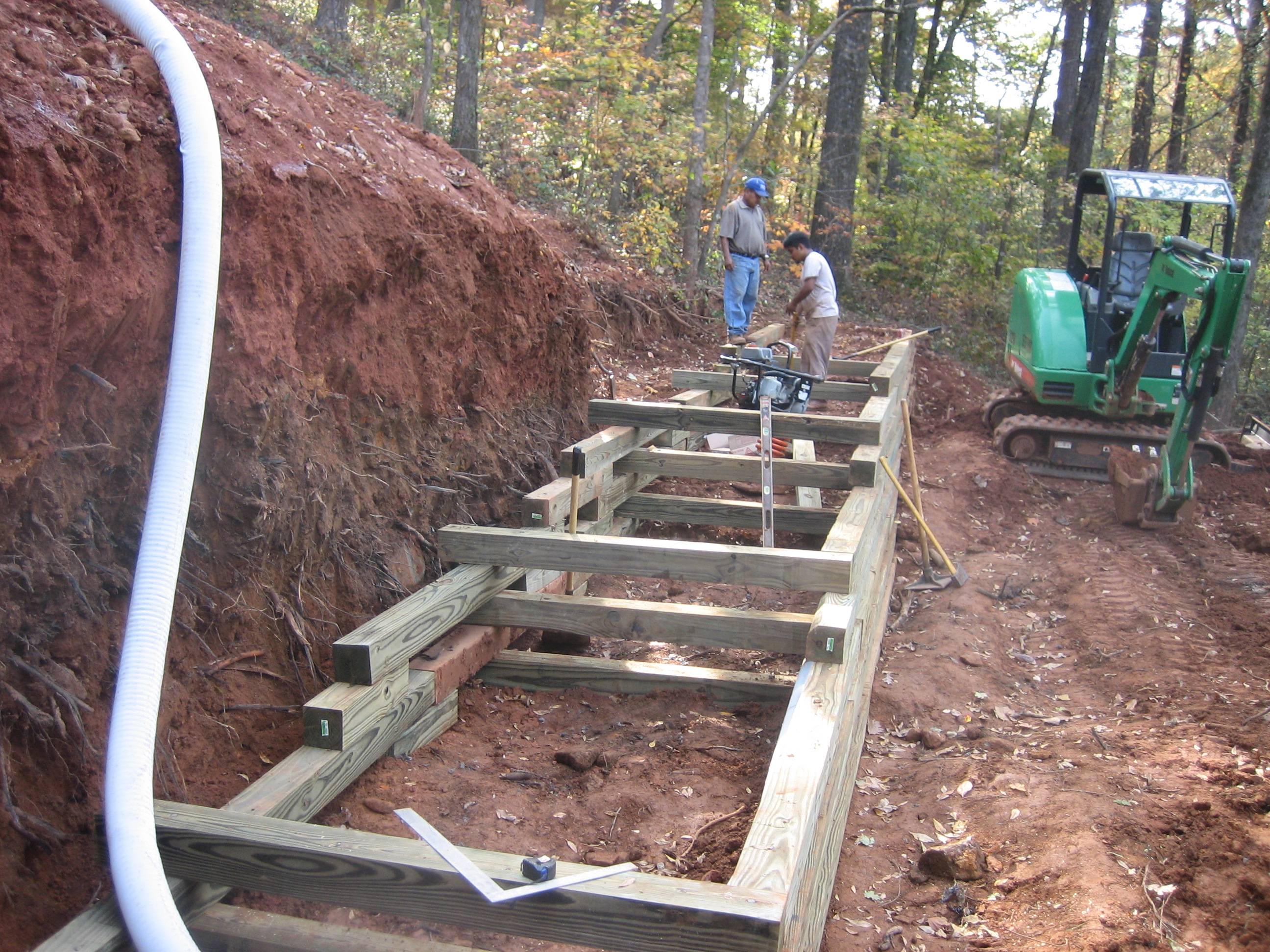 Retaining Wall Timber - McPlants