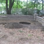 segmental concrete retaining wall installation contractor - McPlants, IMG_1860