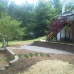 segmental concrete retaining wall installation contractor - McPlants, IMG_20120710_123700