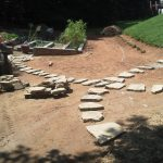 Stone walkway installation contractor - McPlants, IMG_20120816_114740