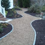 mulch pathway patio installation - McPlants, IMG_20131114_164238