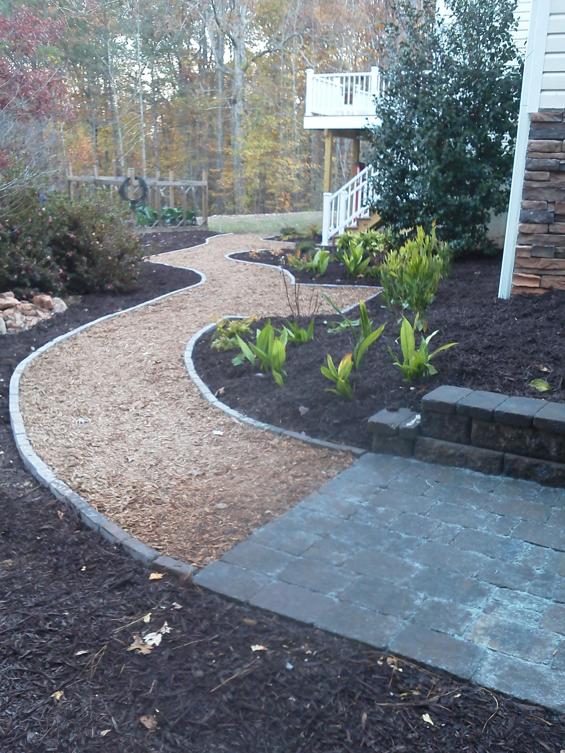 Mulch Pathway Patio Mcplants