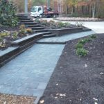 segmental concrete retaining wall installation contractor - McPlants, IMG_20131114_164554