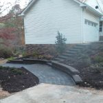 segmental concrete retaining wall installation contractor - McPlants, IMG_20131114_164657