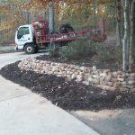 Rock stone retaining walls installation contractor - McPlants, IMG_20131114_164734