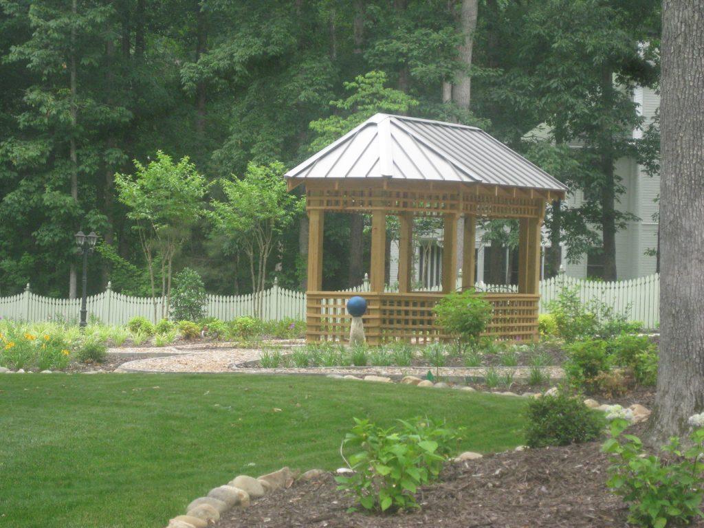 landscape garden structures