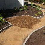 mulch pathway patio installation - McPlants, IMG_2874