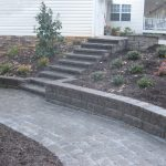 segmental concrete retaining wall installation contractor - McPlants, IMG_2892