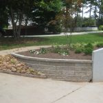 segmental concrete retaining wall installation contractor - McPlants, IMG_4023