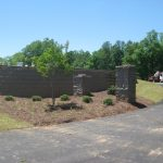 segmental concrete retaining wall installation contractor - McPlants, IMG_6153