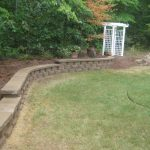 segmental concrete retaining wall installation contractor - McPlants, IMG_7359