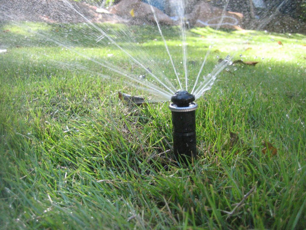 irrigation sprinkler system installation