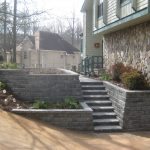 segmental concrete retaining wall installation contractor - McPlants, IMG_9047