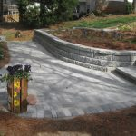 segmental concrete retaining wall installation contractor - McPlants, IMG_9057