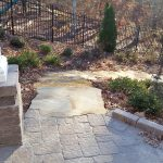 Stone walkway installation contractor - McPlants 20141128_085840