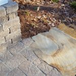 Stone walkway installation contractor - McPlants 20141128_085908