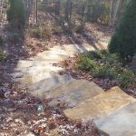 Stone walkway installation contractor - McPlants 20141128_085933