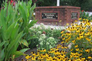 Freedom Island Landscape Garden