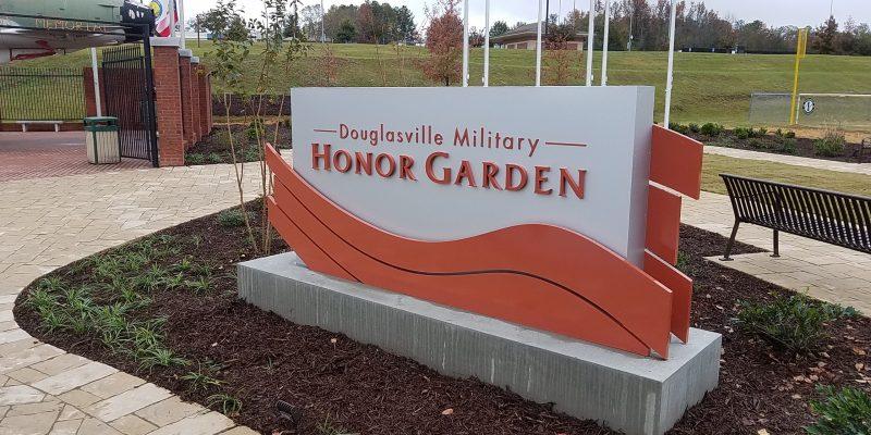 Douglasville Military Honor Garden